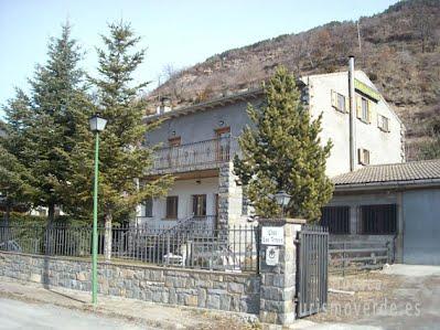 TURISMO VERDE HUESCA. Casa Los Aranes de Broto